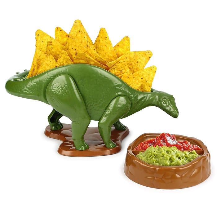 Nachosaurus Bowl & Dip Chip and Dip Serving Set