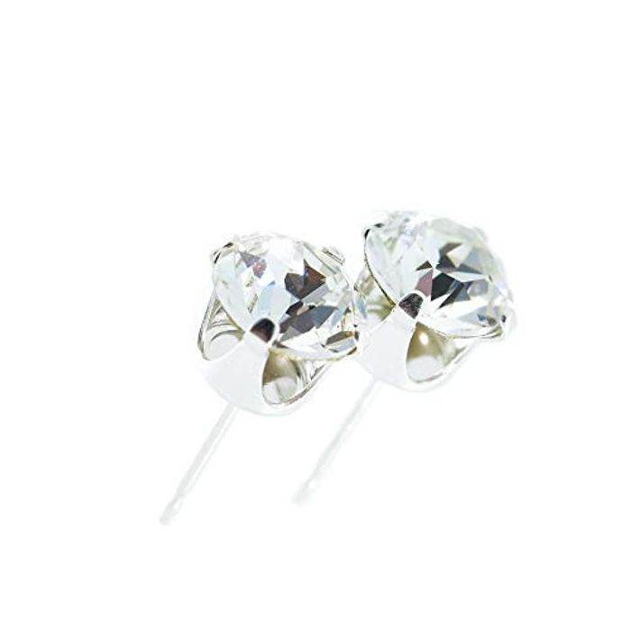 LIghtening Deal .Pewterhooter 925 Sterling Silver Stud Earrings 50p (Prime)