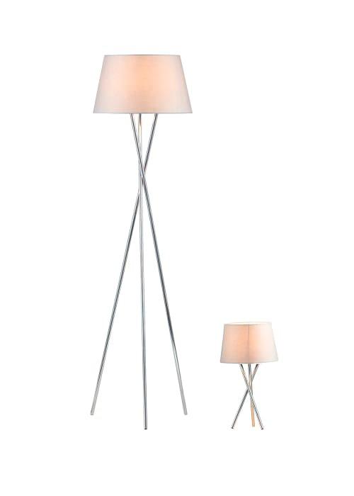Tripod Floor and Table Lamp Set HALF PRICE