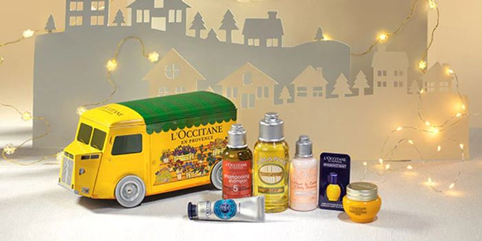 £14 off Truck of Treats with Orders over £45 with Voucher Code at L'Occitane