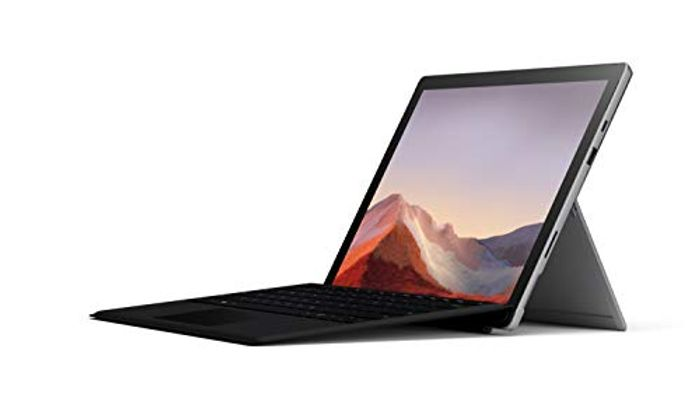 Microsoft Surface Pro 7 12.3-10th Gen Quad Core I5, 8GB RAM,& Black Type Cover