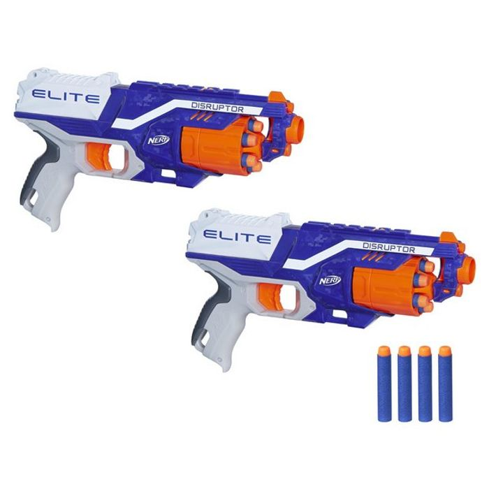 Cheap Nerf N-Strike Elite Disruptor 2 Pack Only £10!