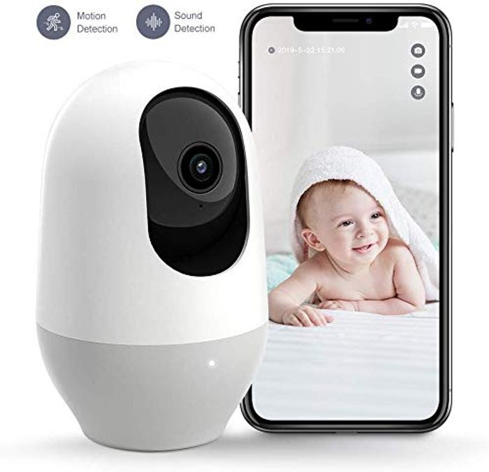 1080P FHD Indoor Wireless IP Camera Home Security £20.99