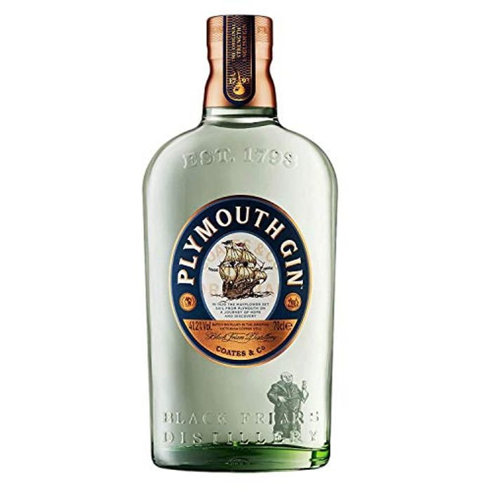 Best Price! Plymouth Original Dry Gin Giftbox, 70 Cl Only £19.99