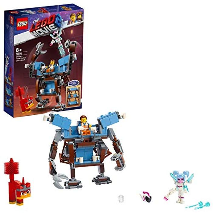 Best Ever Price! LEGO MOVIE 2 70842 Emmets Triple-Decker Couch Mech