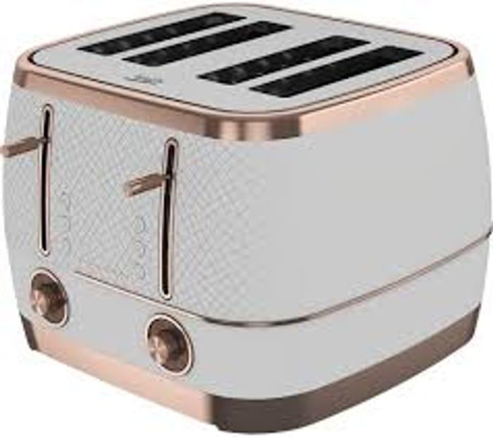 BEKO Cosmopolis TAM8402W 4-Slice Toaster