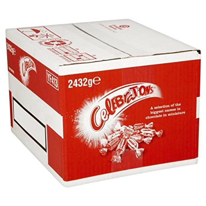 Huge Box of Celebrations 2.432kg for £15.99
