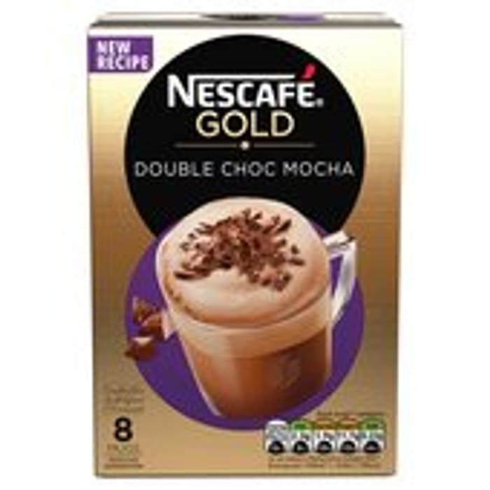 Cheap Nescafe Gold Double Chocolate Mocha Coffee 8 Sachets X 23g Only £1.50
