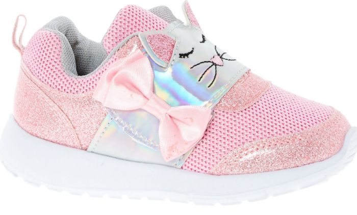 Best Price LAURA ASHLEY Pink Cat Face Trainers