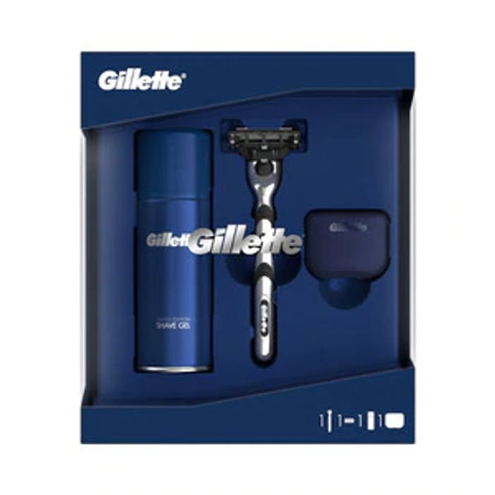 Gillette Mach3 & Shave Gel Set