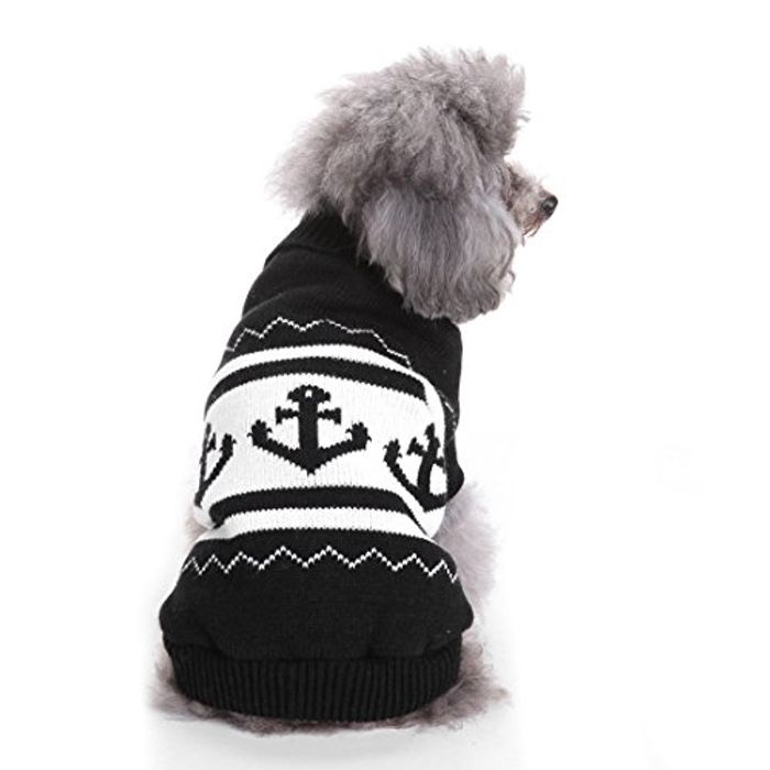 Dogs Print Sweater 50% Off