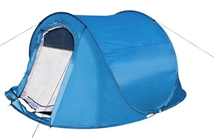Kounga Unisex's Pop-up 2 People Tent, Blue