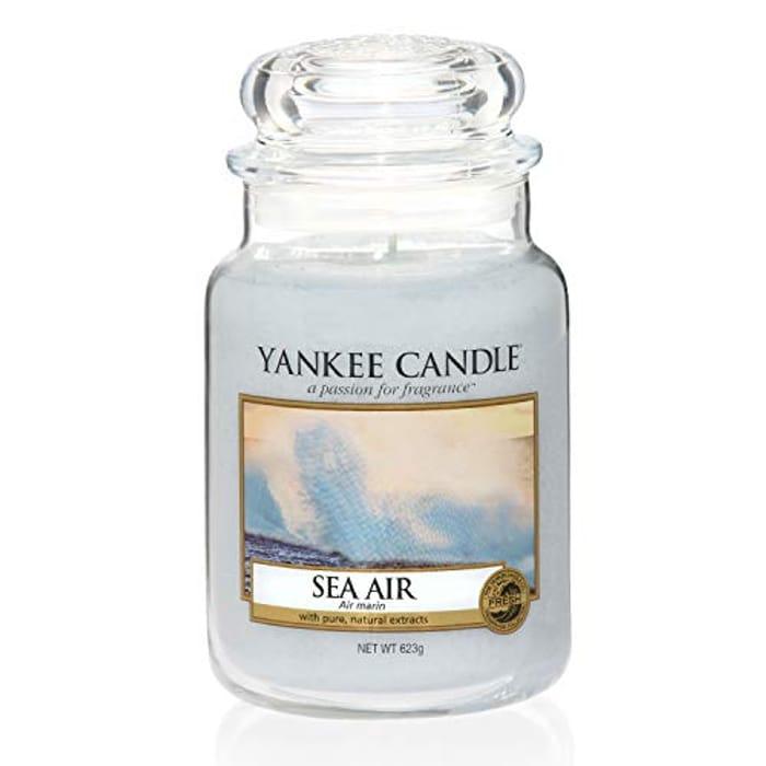 Large Yankee Candle Sea Air at Amazon