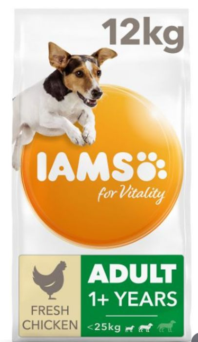 CHEAP! Iams for Vitality Adult Medium Breed Dry Dog Food with Fresh Chicken
