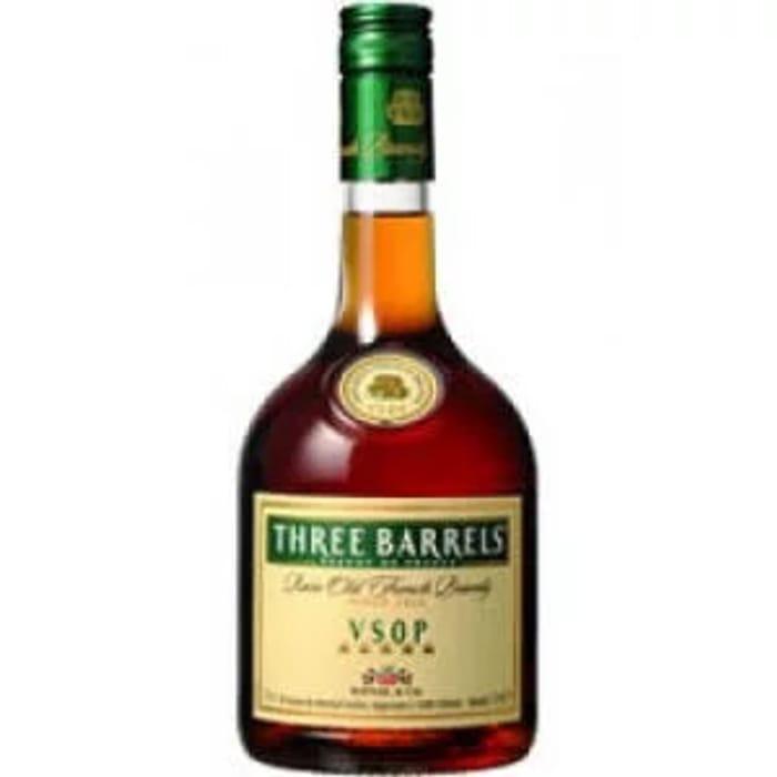 Three Barrels Brandy 70cl at Asda - Only £12!