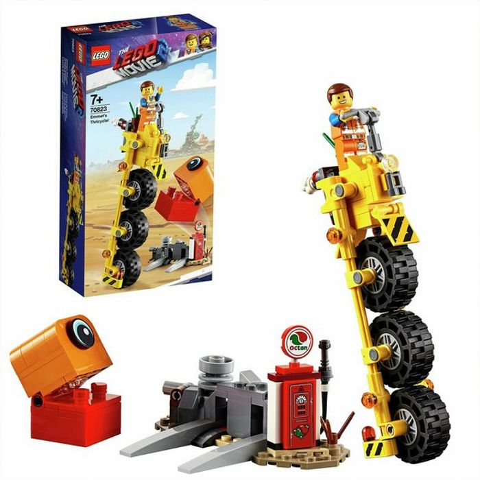 LEGO Movie 2 Emmets Thricycle - 60% Off!