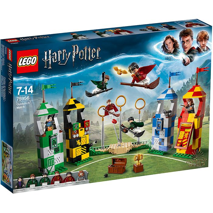 £12 OFF - LEGO HARRY POTTER: QUIDDITCH MATCH (75956) & FREE DELIVERY