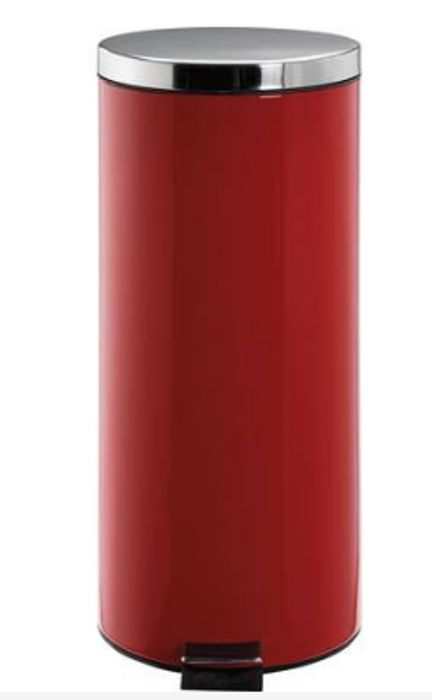 Argos Home 30 Litre Kitchen Pedal Bin - Red Only £13.2