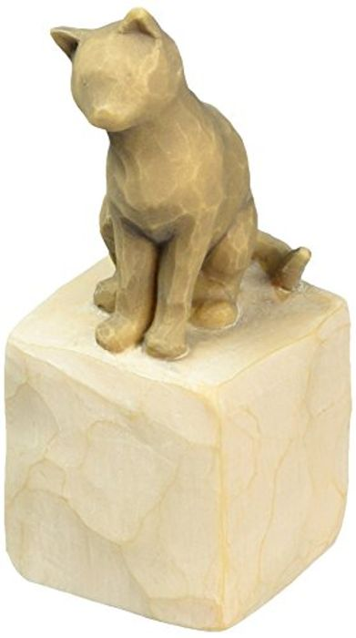 Willow Tree Love My Cat Figurine, RESIN, Multi-Colour, 3 X 3 X 7.5 Cm - Save £3!