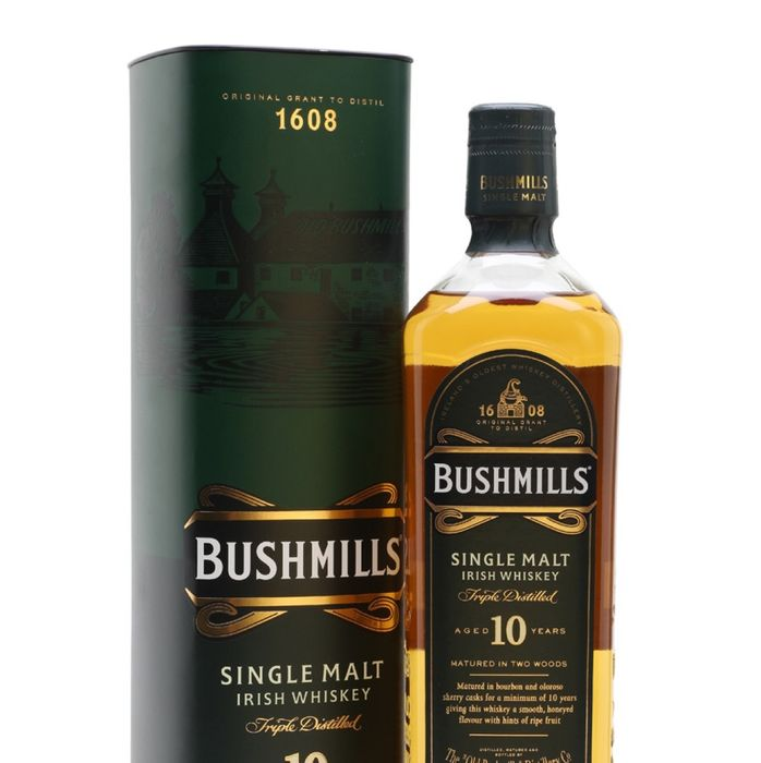 Bushmills 10 Year Old Irish Malt Whiskey 70cl - Save £10!