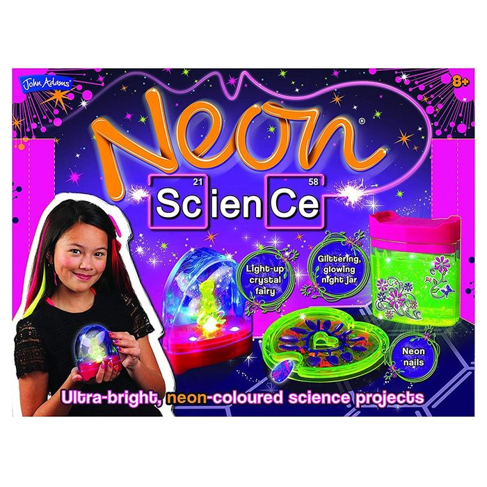 EXCITING Experiments! Neon Science Set