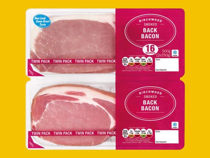 Birchwood Twin Pack Back Bacon - HALF PRICE!