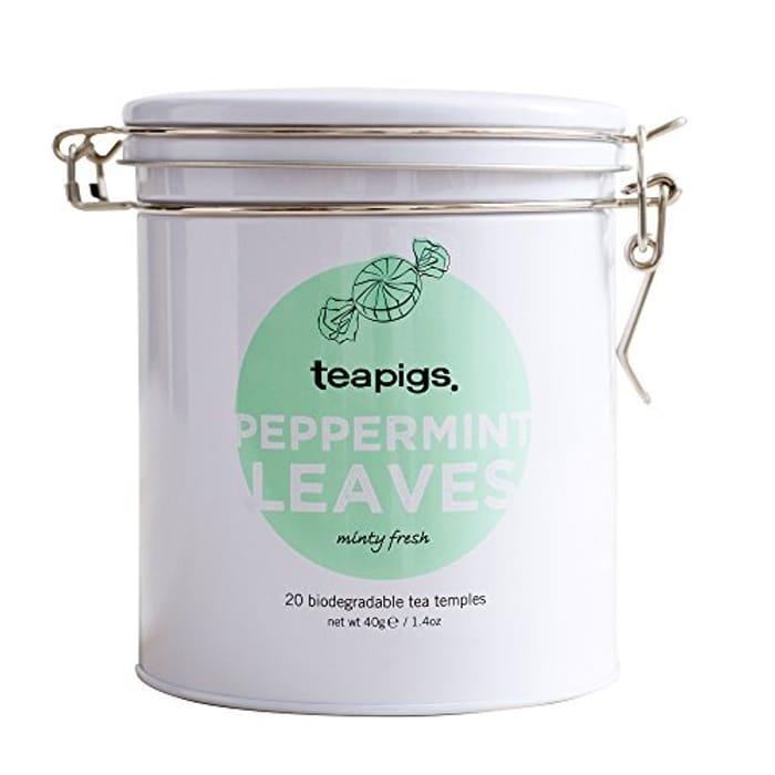 Teapigs Peppermint Leaves Tin of Tea - save 15%