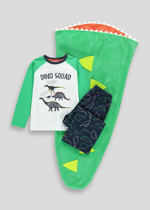 Bargain! Kids 3 Piece Dinosaur Pyjama Set at MATALAN