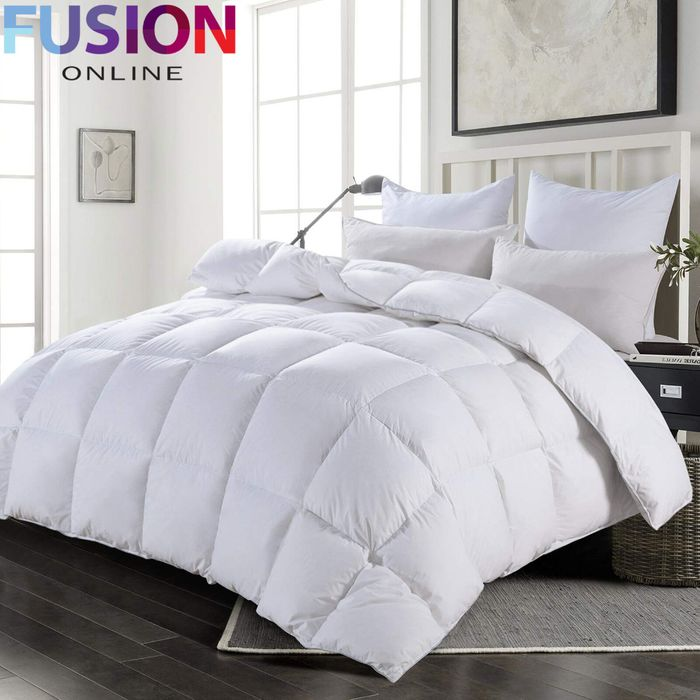 Cheap Luxury Duck Feather & Down Bedding - 2 Pillows £11.49 / Duvets from £19.99
