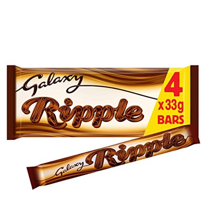 (Amazon Pantry) Galaxy Ripple Milk Chocolate Bars Multipack 4 X 33 G