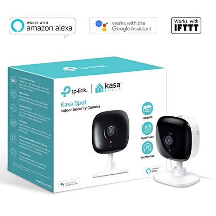Kasa Smart Security Camera by TP-Link, Baby Monitor, Indoor CCTV