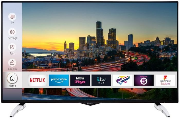 "Celcus 49"" 4K Ultra HD Smart TV"