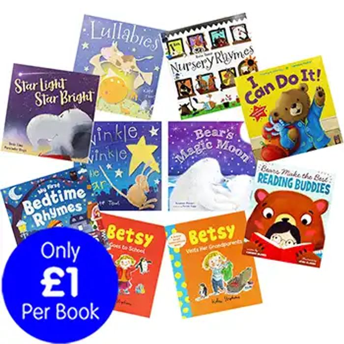 Sleepy Tales - 10 Kids Picture Books Bundle £10 Delivered