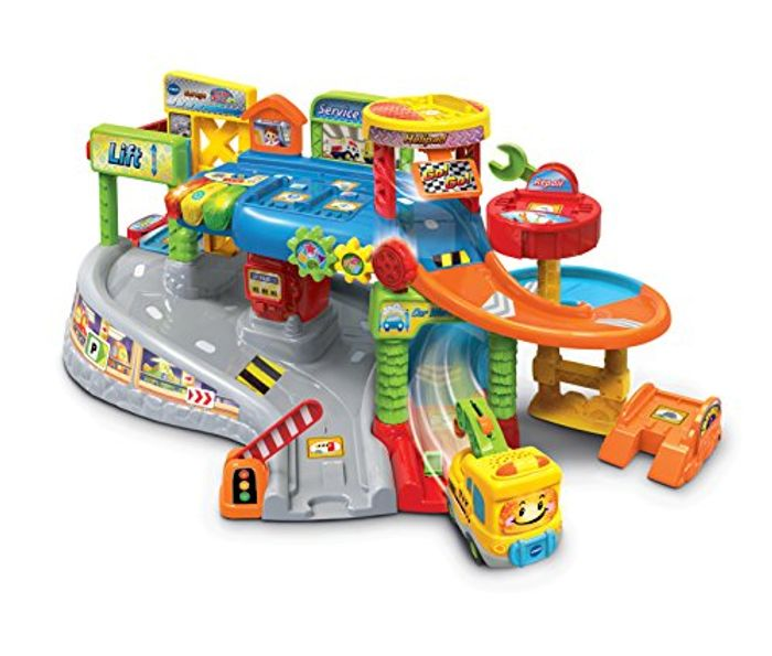 Toot-Toot Drivers Garage, Kids Toy Garage with Music