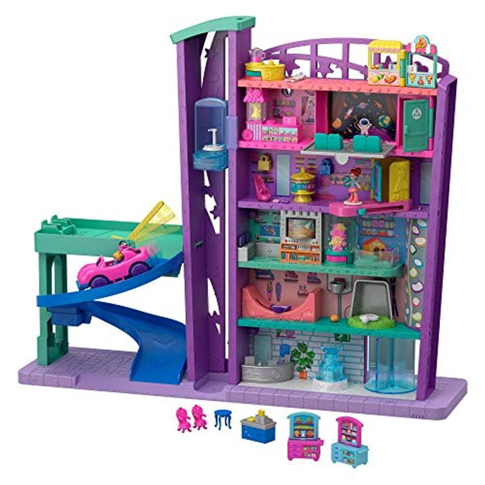 Polly Pocket GFP89 Mega Mall with 6 Floors