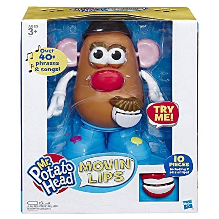 Mr Potato Head E4763802 Playskool Movin' Lips Electronic