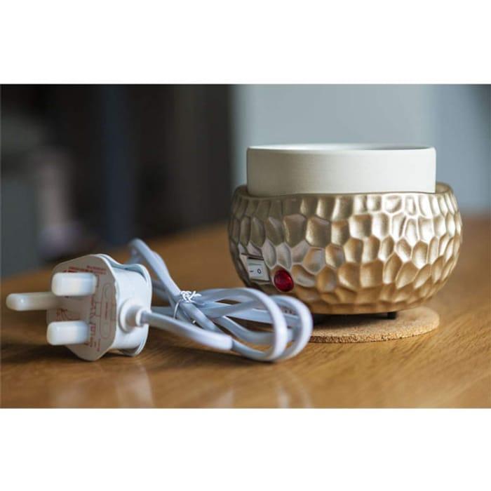 Yankee Candle Gold Electric Wax Melt Warmer