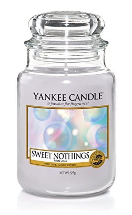 Large Yankee Candle Sweet Nothings