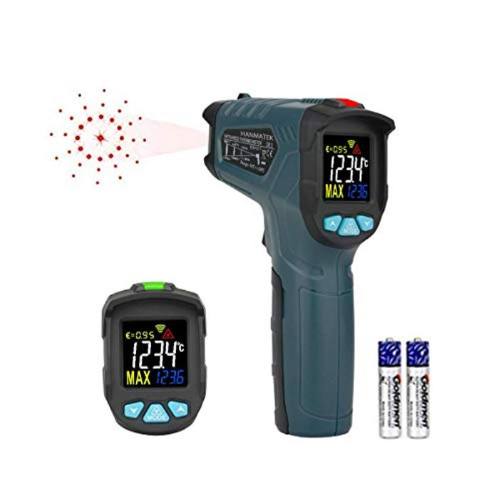 Infrared Thermometer,HANMATEK Laser Thermometer,Non-Contact Digital Instant Read
