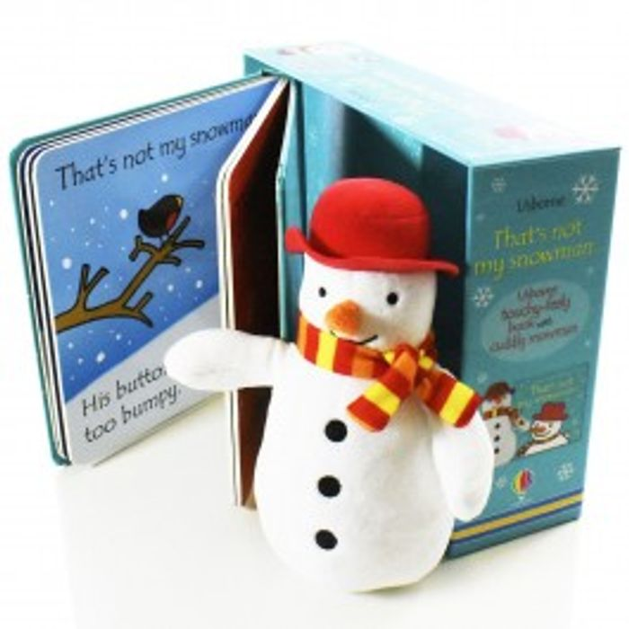 That's Not My Snowman Board Book and Toy by Fiona Watt 20%off at Books2Door