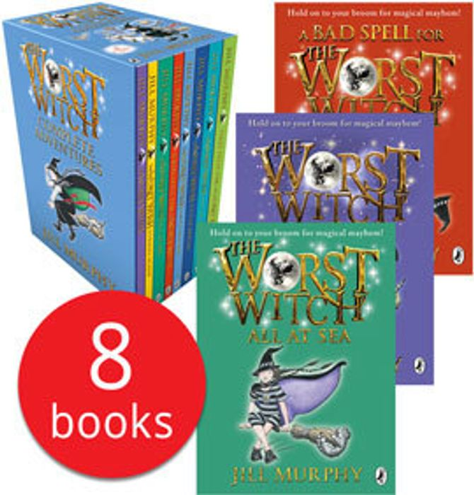 The Worst Witch Collection - 8 Books (Collection)