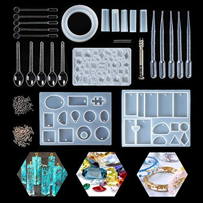 Silicone Resin Casting Mold Kit - Make Your Own Crafts