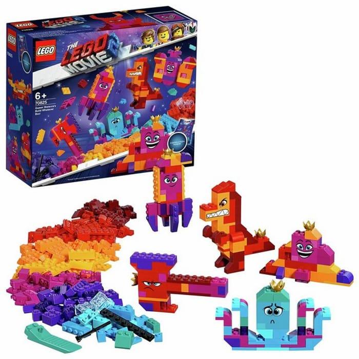 LEGO Movie 2 Queen Watevra's Building Toy Brick Set - 70825