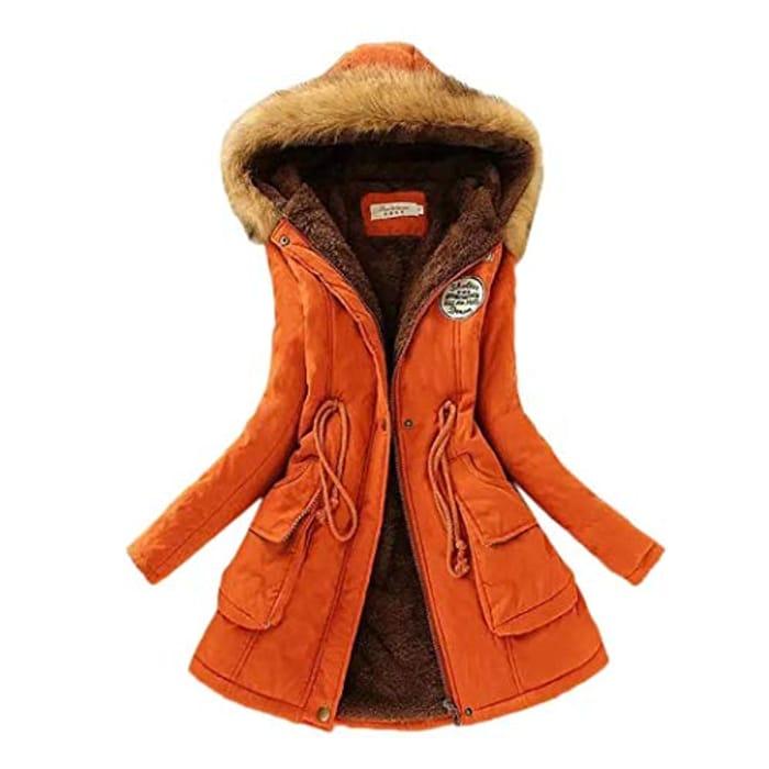 70% Off Warm Long Winter Coat