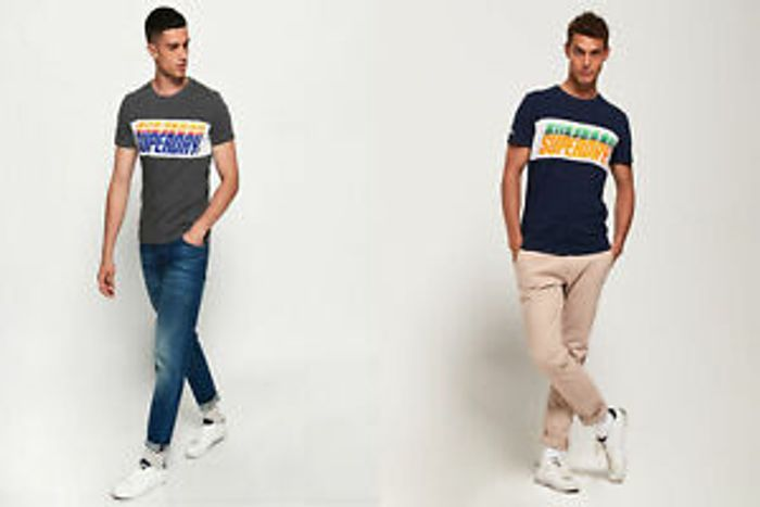 Cheap Men's Superdry T-Shirts Only £12.49 Delivered