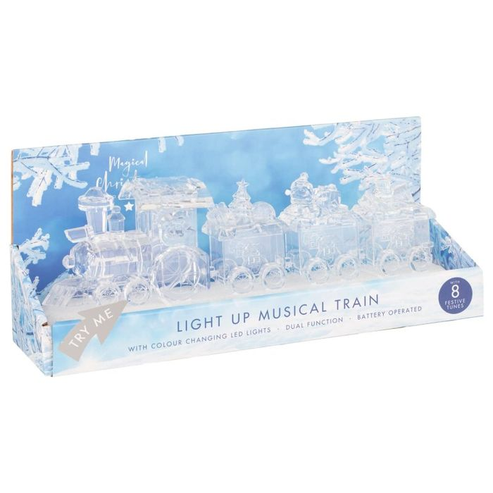 Magical Light up Musical Train