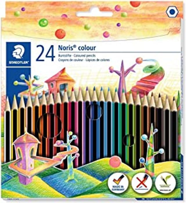 Staedtler Noris Coloured Pencils 24pk