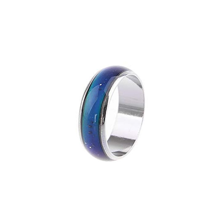 Stainless Steel Magic Mood Ring