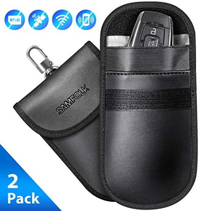 Car Key Signal Blocker Pouch Case