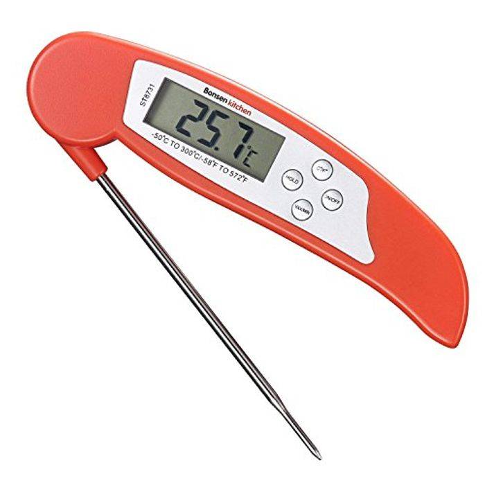 Digital Thermometer Instant Read Meat Themometer for Grilling